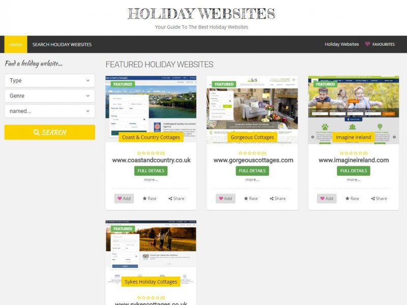 holidaywebsites.xyz